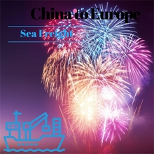 Fireworks Shipping to Europe Sea container Prices Dangerous Goods Freight Forwarder