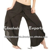2858 Rayon Trouser Pantalon pants Hindu Ropa Vetement harem pants