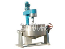 Electric Gas Steam Tilting Mixer Cooking Equipment Jacketed Kettle