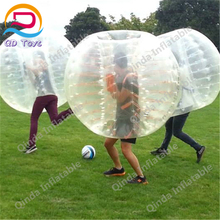 Crazy inflatable human soccer bubble with buddy bumper ball made in China durable inflatable bubble human soccer