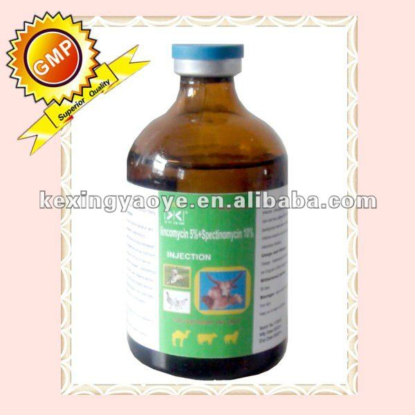 lincomycin hydrochloride injection of veterinary drug