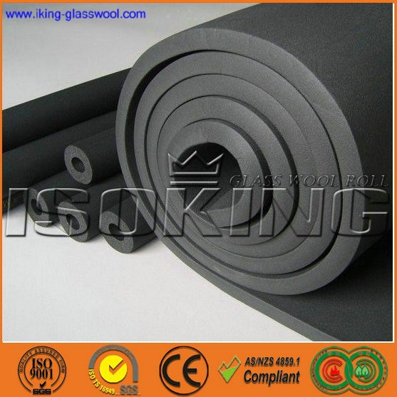 China Closed Cell Black Rubber Foam