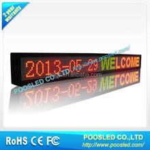 remote controller led moving message sign