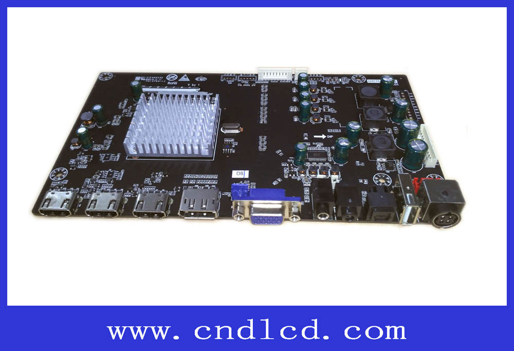 4K LCD Monitor main Board with V-by-one or eDP Output