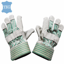 Cheap Price cowhide leather protective hand working gloves industrial safety equipments
