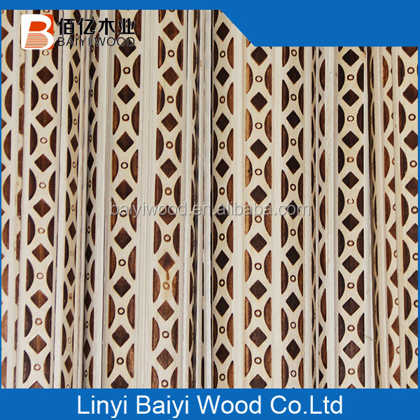 High Quality Decorative Recon Wood Margin