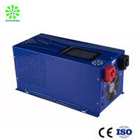 Off grid 5000w wind turbine solar system pure sine wave 60Hz 48vdc to 220vac inverter and converter
