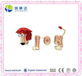 Interesting Plush Baby Toy Magnetic Plush Lion Word Toy