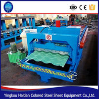 Colored PPGI Steel Glazed Tile Roofing Equipment/Metal Panel Roofing Equipment for sale