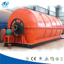 World popular selling machine Waste /used/scrap tire/plastic pyrolysis equipment/ recycling machine