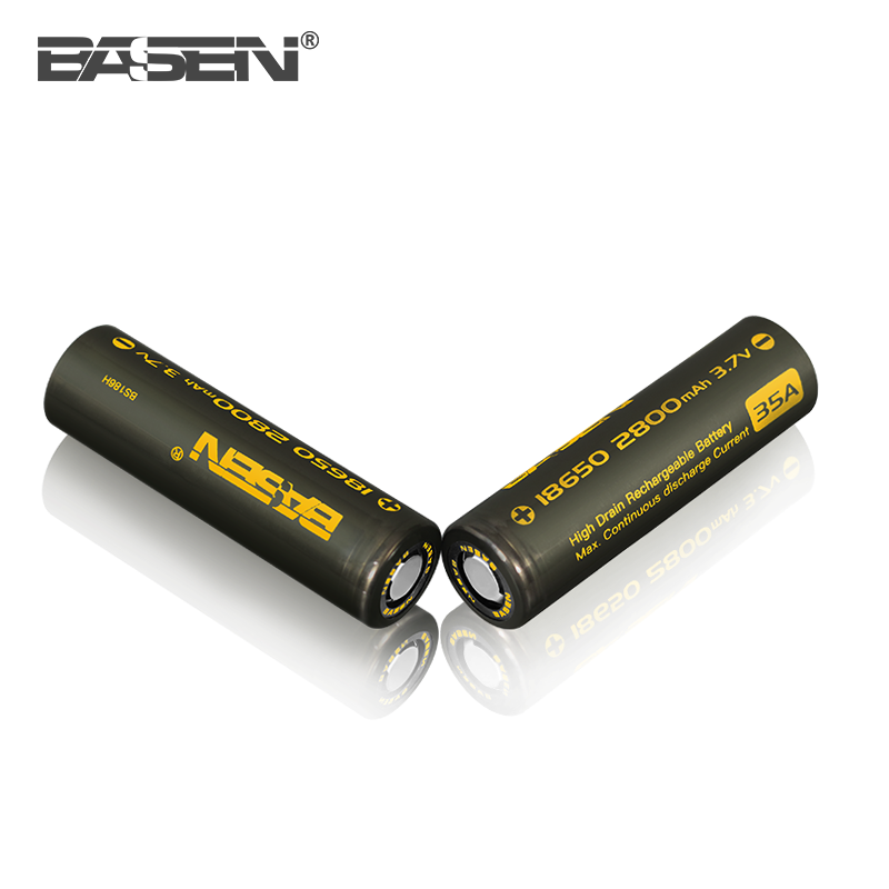 18650 Basen BS186H 2800mah 35a li-ion rechargeable cell 18650 battery