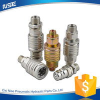 made in china push and pull Type hydraulic quick disconnect coupling