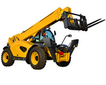 Chinese powerful forklift with telescopic boom