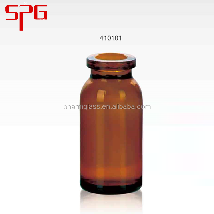 2016 High Quality 10ml amber vary medical glass bottle , amber glass medical vials , medical amber vial