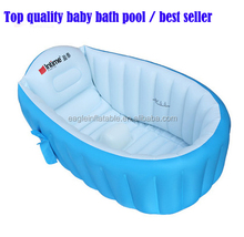 Factory supply Hot inflatable baby shower bath basin pools tub high quality inflatable bath pool for baby
