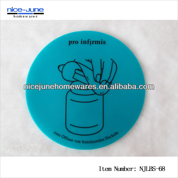 Silicone jar and bottle opener for old people,silicone teacup holder