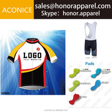 Hot Selling New Design Custom Cheap Fast Shipping International Custom Made Cycling Jersey