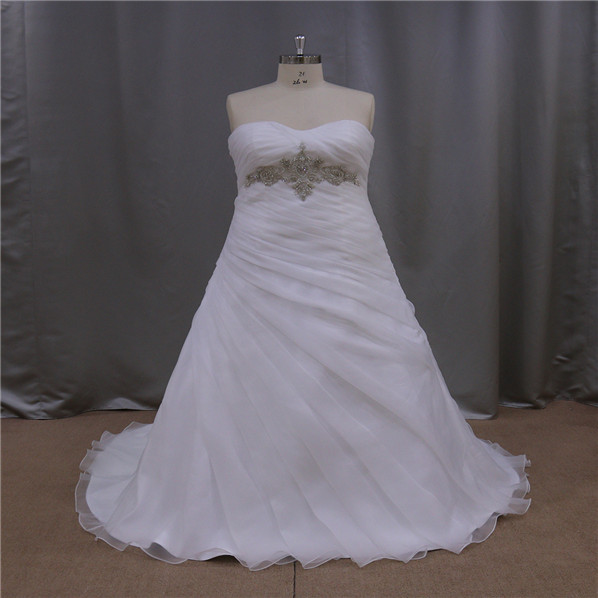 Professional 16 years crumpled sash strapless maid of honor wedding dresses