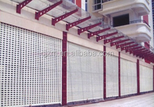 Thickness 0.6mm Exterior Garagehigh quality iron pipe gate design