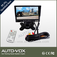 7 inch screen car lcd monitor with hdmi input