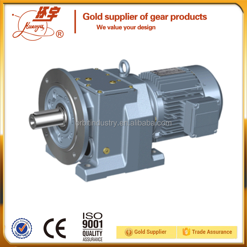 Small ratio sumitomo gear motors with foot