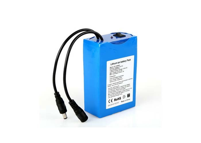3S2P 12V Rechargeable lithium ion battery 12v 5.2AH 7ah 10ah 18650 battery pack