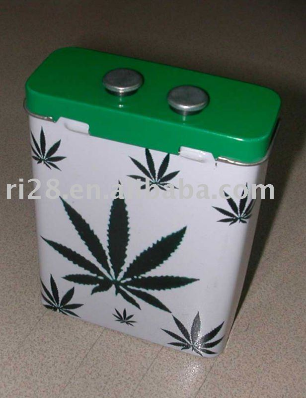 cigarette tin gift box