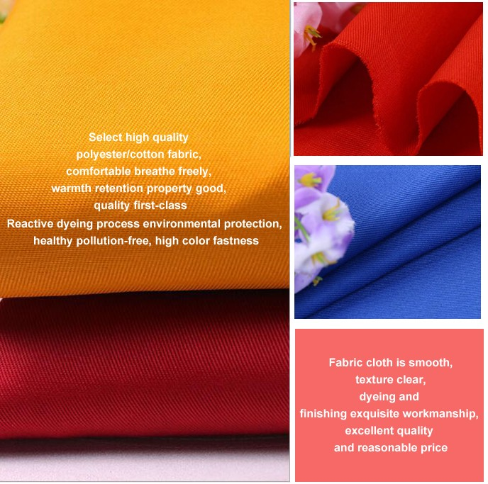 100 twill cotton trousers fabric wholesale