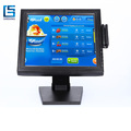 15 Inch LED Touch Screen Monitors With MSR For Pos System