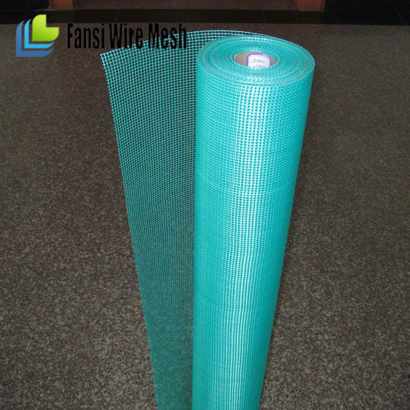 Lower price China supplies high quality BLUE 5*5mm 160 GR reinforcement concrete fiberglass mesh