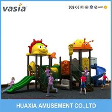 Factory price kids indoor plastic playground with inflatable bouncer and children toys