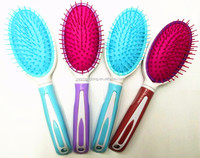 New fashion environmental protection plastic material massage comb Daily necessities salon personalized color hair comb