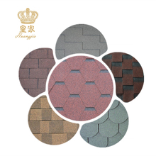 Coloured Asphalt Shingle Fiberglass Roofing Tile