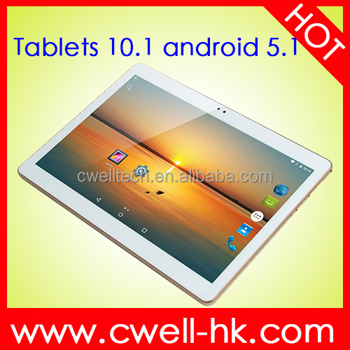 Android 5.1 Lollipop MTK6735P Quad core 4G tablet 10.1 inch dual sim 1GB RAM/16GB ROM tablet PC
