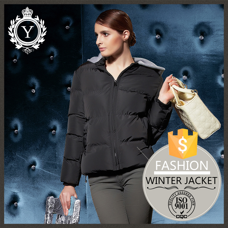 Groothandel dames apparel 100% polyester bomberjack/vrouwen winter mode outdoor jas 2014