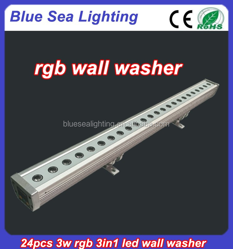 Led Wall Washer Fixtures : New 24pcs Rgb 3in1 Led Wall Washer Fixtures - Buy Wall Washer Fixtures,Led Wall Washer,Led Wall ...