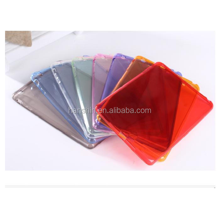 Ultra Thin Crystal Transparent Clear Smart Soft TPU Rubber Protective Case For Ipad mini
