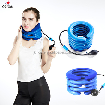 Medical Cervical Neck Collars inflatable cervical traction For Emergency and daily life neck support Use