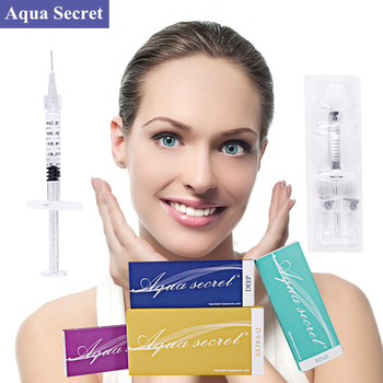 Sterile CE injectable dermal filler hyaluronic acid injection with micro cannula for beauty