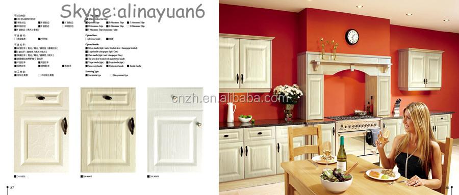 3d Pvc Classic Style Kitchen Cabinet Door Panels New Design Pvc