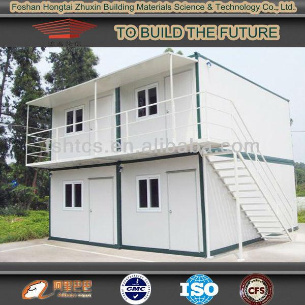 cina a due piani casa prefabbricata del contenitore cabina