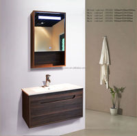 China Lishui hot selling modern wall mounted bathroom wall cabinet