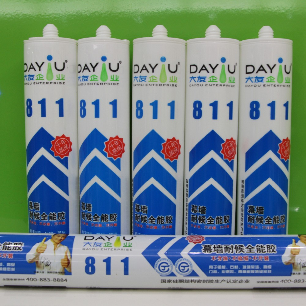 Excellent performance DY811 moisture-proof good seal silicone sealant