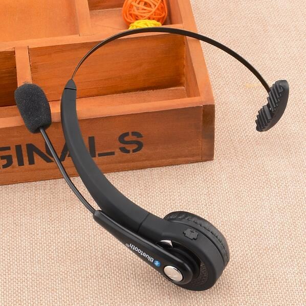 BTH-068 Wireless bluetooth V2.1+EDR Headset Stereo headphones W/USB for PS3-Black (US Plug)