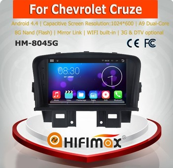HIFIMAX Android 4.4.4 For Holden/Chevrolet Cruze2008-2012 Car GPS Navigation System For Chevrolet Cruze Touch Screen DVD Player