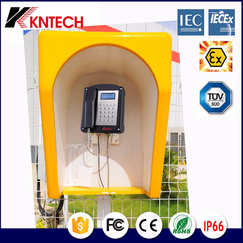 Hot sales!! RF-13 with KNEX1 waterproof phone TUV acoustic hood from kntech
