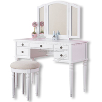 Fashion Bedroom Furniture French Dressing Table With Mirror Design Ebay Amazon Bing Supplier&Factory&Seller&Distributor