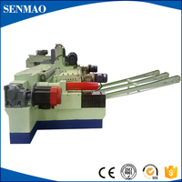 wood core veneer peeling machine