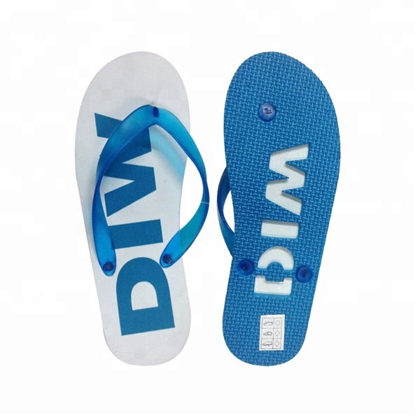 235d4af59 Custom High Quality Die Cut Sole Embossed Sand Imprint Flip Flops ...