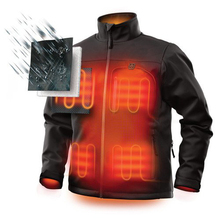 Cheap 4XL Men's Self Warming Battery Powered Heated Jackets Liner Clothes For <strong>Motorcycle</strong>